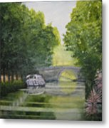 French Canal Metal Print
