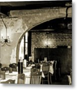 French Country Restaurant 2 Metal Print