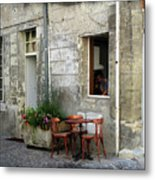 French Countryside Corner Metal Print