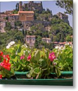 French Flowers Metal Print