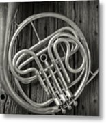 French Horn 2 Metal Print