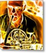 French Horn Metal Print by Stephen Younts