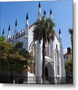French Huguenot Church In Charleston Metal Print