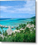 French Polynesia, Moorea Metal Print
