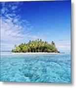 French Polynesian Island Metal Print