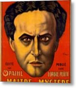 French Poster Advertising Harry Metal Print