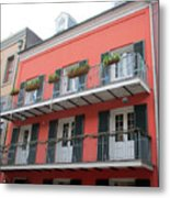 French Quarter 21 Metal Print
