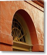 French Quarter Arches Metal Print