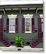French Quarter Home Metal Print