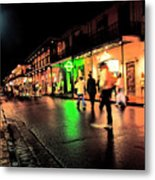 French Quarter New Orleans Metal Print