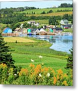 French River, P.e.i. Metal Print