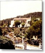 French Riviera 1955 Metal Print