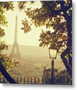French Romance Metal Print by by Smaranda Madalina Cheregi