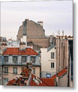 French Rooftops  Metal Print