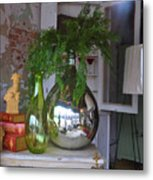 French Vases Metal Print