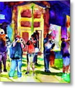 Frenchman Street Metal Print