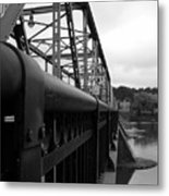 Frenchtown Bridge Metal Print