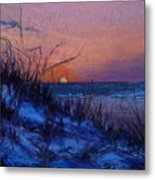 Frenchy's Sunset Metal Print