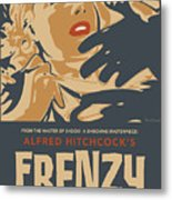 Frenzy - Thriller Noir Metal Print