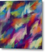Fresh Abstraction Metal Print