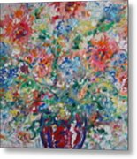 Fresh Bouquet Metal Print