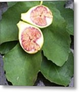 Fresh Figs Metal Print