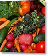 Fresh Is Best Metal Print by Diane E Berry