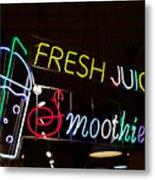 Fresh Juices Metal Print
