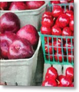 Fresh Market Fruit Metal Print