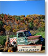 Fresh Mountain Produce Metal Print