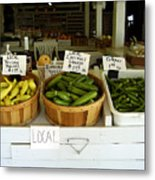 Fresh Produce Metal Print