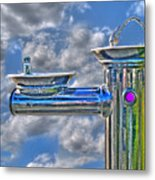 Fresh Squeezed Water Metal Print