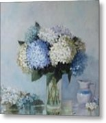 Fresh Summer Hydrangea 2 Metal Print