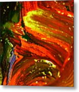 Fresh Swirls Metal Print