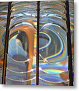 Fresnel Lens Metal Print