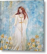 Freya - Goddess Of Love And Beauty Metal Print