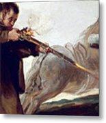 Friar Pedro Shoots El Maragato As His Horse Runs Off Metal Print