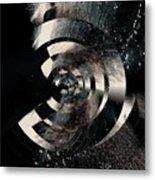 Friction Wheel Metal Print