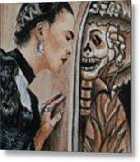 Frida Catrina Metal Print