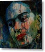 Frida Kahlo Colourful Icon  Metal Print