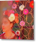 Frida Kalho Inspired Metal Print