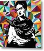 Frida Stay True Metal Print
