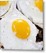 Fried Eggs Metal Print