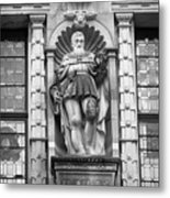 Friedrich The Wise B W Metal Print