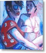 Friends - Girls On Holiday Metal Print