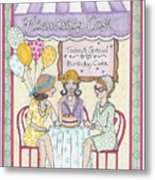 Friendship Cafe Metal Print