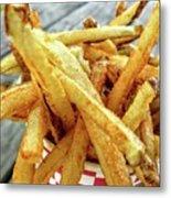 Fries Metal Print