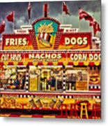 Fries Nachos Dogs Metal Print