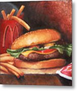 Fries With That Metal Print