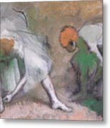 Frieze Of Dancers Metal Print by Edgar Degas
